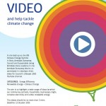 Call to all students – make an 'Energetic' video – Deadline 12th October