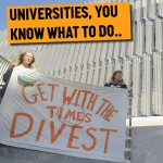350 dot org suggests to write to the Vice-Chancellors of Australia's universities today calling on them to divest from fossil fuels
