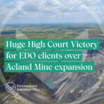 High Court win over Acland coal mine