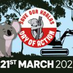 Armidale Koala Day of Action #SaveOurKoalas